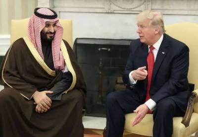 ٹرمپ کی سعودی ولی عہد سے ٹیلی فونک گفتگو،دفاعی تعاون کی پیشکش