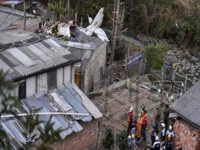 کولمبیا:طیارہ حادثے میں 7 افراد ہلاک، 3 زخمی