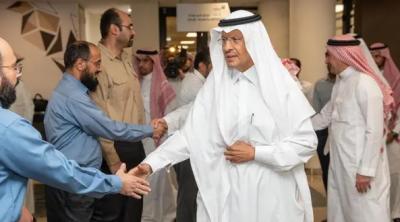 سعودی وزیر توانائی کا آرامکو کی تنصیبات کا دورہ
