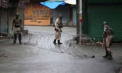 مقبوضہ کشمیر میں لاک ڈاؤن کا 44واں دن,فوجی محاصرہ برقرار