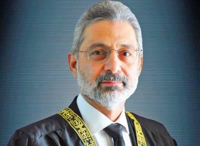 جسٹس قاضی فائز عیسیٰ کیخلاف صدارتی ریفرنس کی سماعت کرنے والا لارجر بینچ ٹوٹ گیا