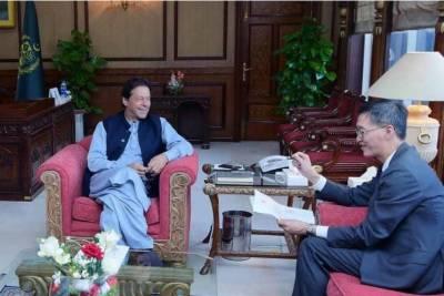 چینی صدر کا مستقبل میں پاکستان کیساتھ ملکر کام کرنے کا اعادہ