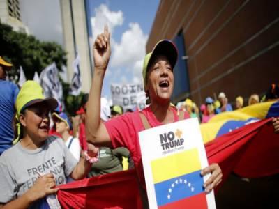 امریکہ نے وینزویلا کے 3افراد اور 16اداروں پر پابندی عائد کردی