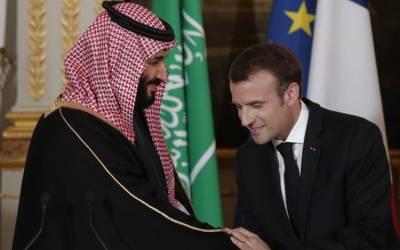فرانسیسی صدر کا سعودی ولی عہد سے رابطہ، تیل فیکٹری پر حملوں کی شدید مذمت