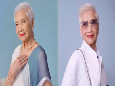 ایشیا کی سب سے عمررسیدہ ماڈل، 96 سالہ ایلس پینگ