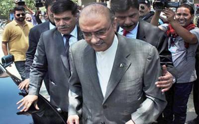 حکومت وزیراعلیٰ سندھ سمیت جس کو گرفتار کرنا چاہتی ہے کرلے: آصف زرداری