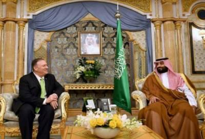 امریکہ سعودی عرب کے دفاع کے اس کے حق کی حمایت کرتاہے:پومپیو