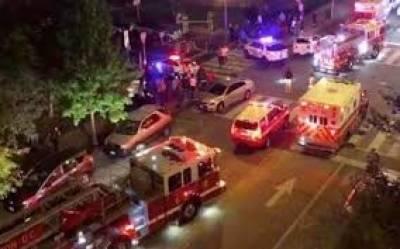 واشنگٹن میں وائٹ ہاﺅس کے قریب فائرنگ سے1 شخص ہلاک، 5 زخمی