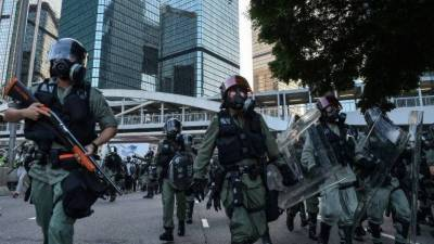 ہانگ کانگ کی پولیس طاقت کا غیرضروری استعمال کر رہی ہے، ایمنسٹی