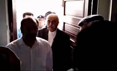سکھر :خورشید شاہ احتساب عدالت میں پیش
