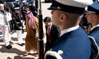امریکی صدرنے سعودی عرب میں اضافی فوج بھیجنے کی منظوری دیدی