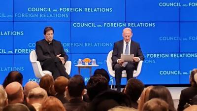 امریکی جنگ میں کودنا غلطی تھی: وزیراعظم کا کونسل آن فارن ریلیشنز سے خطاب