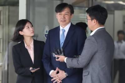 جنوبی کوریا:وزیر انصاف کے گھر پر چھاپہ