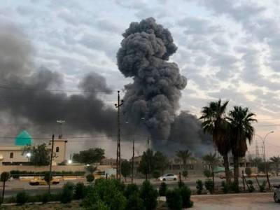 بغداد کے گرین زون میں امریکی سفارت خانے کے قریب 2 راکٹ حملے، کوئی نقصان نہیں ہوا