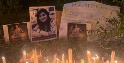 دروازہ توڑ کراندر داخل ہوئےتو نمرتا کی دوپٹے سے پھندہ لگی لاش دیکھی:ساتھی طالبہ کا بیان