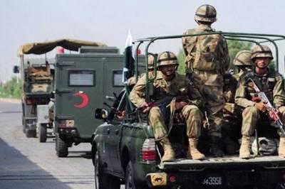 پاک فوج امدادی کاموں کیلئے آزاد کشمیر روانہ