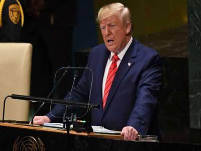 دنیا کے لئے سب سے بڑا خطرہ ایران ہے، ایران دنیا میں دہشتگردوں کو سپورٹ کرنیوالا نمبر ون ملک ہے:ٹرمپ کا جنرل اسمبلی میں خطاب
