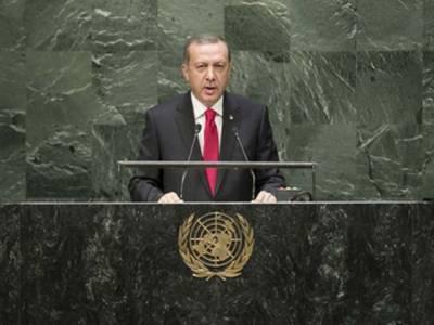 رجب طیب اردوان نے مسئلہ کشمیر اقوام متحدہ میں اُٹھا دیا