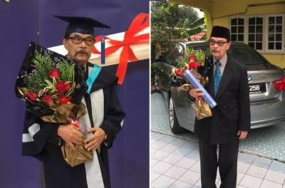 ملائیشین شہری نے 87 سال کی عمر میں گریجویشن مکمل کرلیا