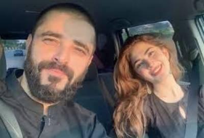 میری بیوی میرے لئے خدا کا دیا گیا بہترین تحفہ ہے: حمزہ علی عباسی