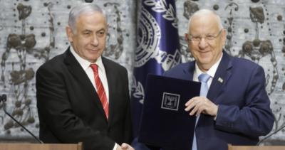 اسرائیلی صدر رووِن ریولن نے بینجمن نیتن یاہو کو حکومت سازی کی دعوت دیدی
