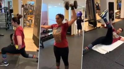 ٹینس اسٹار ثانیہ مرزا نے 4 ماہ میں 26 کلو وزن کم کرلیا، ویڈیو وائرل