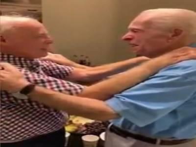 دوسری جنگ عظیم کے دوران جدا ہونے والے دوست 75 سال بعد مل گئے