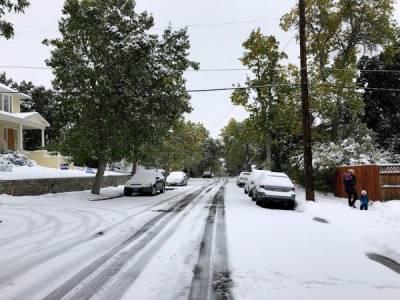 امریکی ریاست مونٹانا میں شدید برفباری سے نظام زندگی درہم برہم
