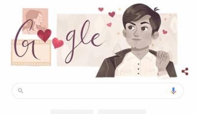 چاکلیٹی ہیرو' وحید مراد کی سالگرہ پر گوگل کا 'ڈوڈل'