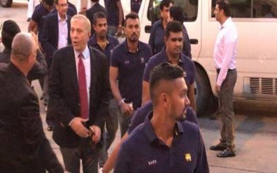 ٹی ٹوئنٹی سیریز کیلئے پاکستان اور سری لنکا کی ٹیمیں لاہور پہنچ گئیں