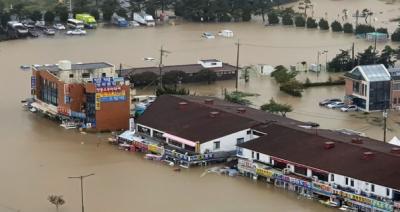 جنوبی کوریا میں طوفان نے تباہی مچادی،9افراد ہلاک