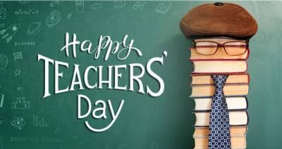 آج اساتذہ کاعالمی دن منایا جارہاہے