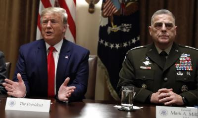 شمالی شام سے امریکی فوجی انخلا: ریپبلکن سیاستدانوں کی بھی ٹرمپ پر تنقید