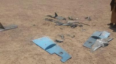الجوف میں یمنی فوج نے ایرانی ساختہ بمبار ڈرون تباہ کردیا