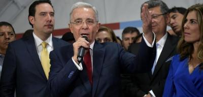 کولمبیا کے سابق صدر شواہد میں ردوبدل کے الزام کی تحقیقات میں سپریم کورٹ پیش
