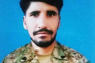 بھارتی فوج کی لائن آف کنٹرول پر بلااشتعال فائرنگ,پاک فوج کا جوان شہید
