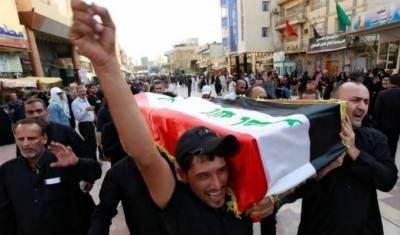 عراق:وزیراعظم کامظاہرین کی ہلاکت پر 3روزہ قومی سوگ کااعلان