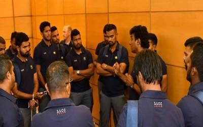 سری لنکن ٹیم نجی ائیرلائن سے براستہ دبئی وطن روانہ