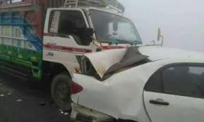 کراچی:سپرہائی وے کے قریب ٹرالر اور کار میں ٹکر کے نتیجے میں 2 افراد جاں بحق جبکہ دو زخمی