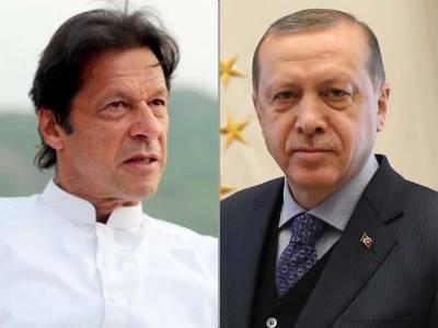 عمران خان کاعلاقائی استحکام میں اضافے سے متعلق ترکی کی کوششوں کے ساتھ مکمل تعاون کااظہار