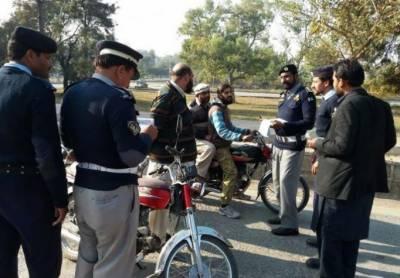 اسلام آباد:9ماہ میں 50 کروڑ روپے کا ٹریفک چالان