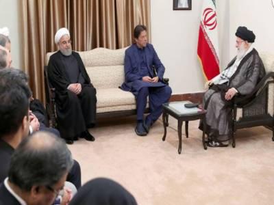 عمران خان کی آیت اللہ خامنہ ای سے ملاقات، کشمیریوں کی حمایت پر اظہار تشکر