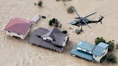 جاپان:سمندری طوفان سے ہلاکتوں کی تعداد بڑھ کر 39 ہو گئی