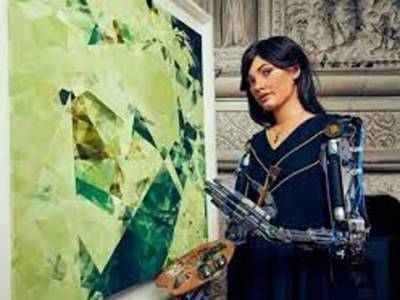 دنیا کی پہلی روبوٹ آرٹسٹ