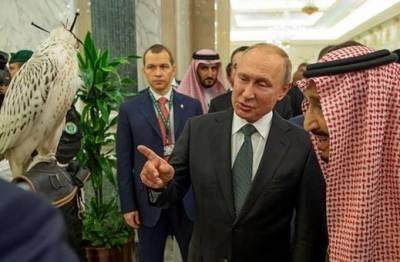 پیوٹن کا سعودی شاہ سلمان کو روسی شاہین کا قیمتی تحفہ