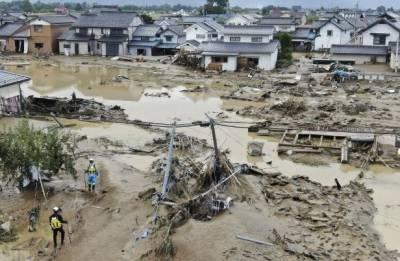 جاپان:سمندری طوفان سے ہلاکتوں کی تعداد 74 ہوگئی