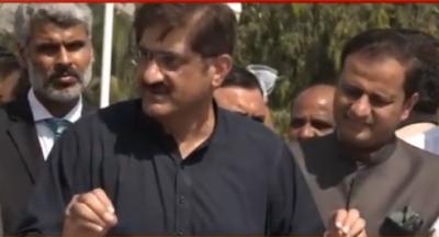 یہ ڈھکی چھپی بات نہیں وفاق کراچی پر قبضہ کرنا چاہتا ہے: مراد علی شاہ