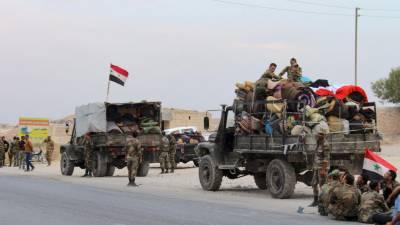 شامی اور روسی فوجی سرحدی شہر کوبانی میں داخل،منبج پر مکمل کنٹرول