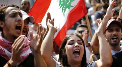 عراق کے بعد لبنان میں بھی ابترمعاشی حالات کے عوام پھٹ پڑے