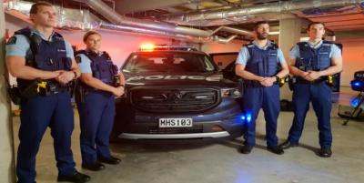 نیوزی لینڈ میں کرائسٹ چرچ قتل عام کے تناظر میں پولیس پیٹرولنگ متعارف